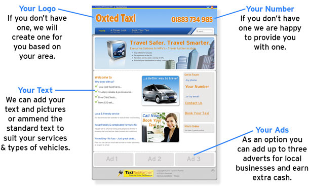 Why is Taxi Web Partner different?